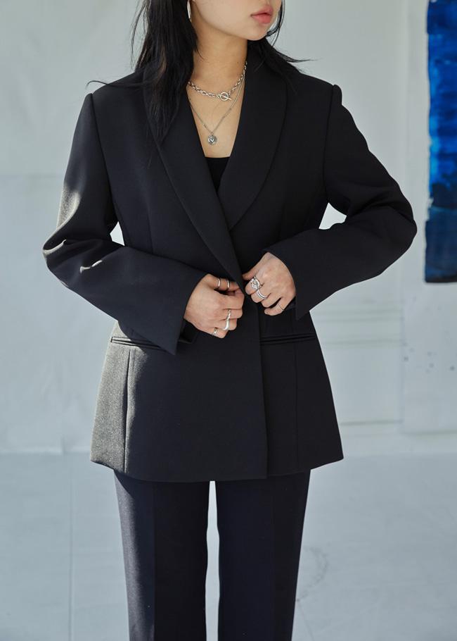Shawl Lapel Jacket