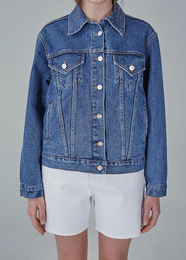 Standard Blue Denim Jacket Blue