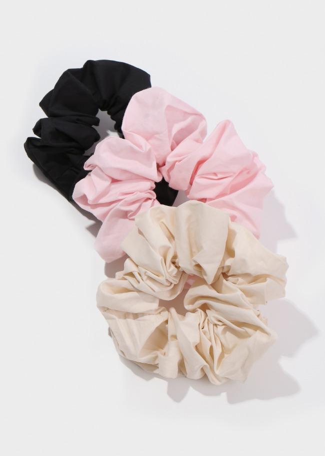 Crinkled Hair Scrunchie