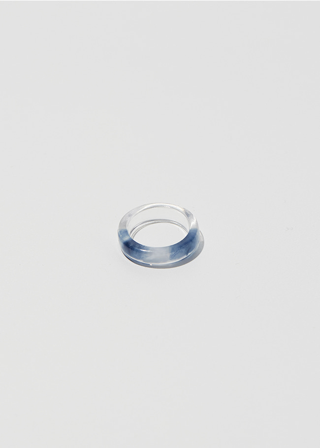 Blue Watercolor Ring