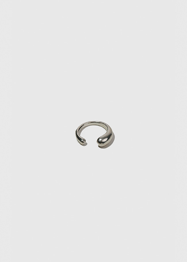 Silver Tapered Ear Cuff