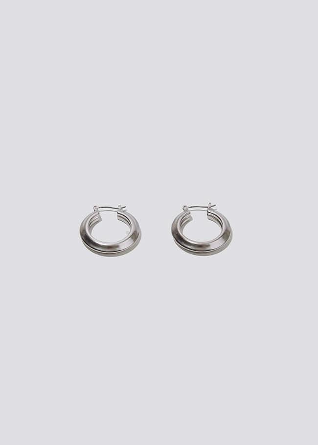 Mini Hoop Latch Earrings