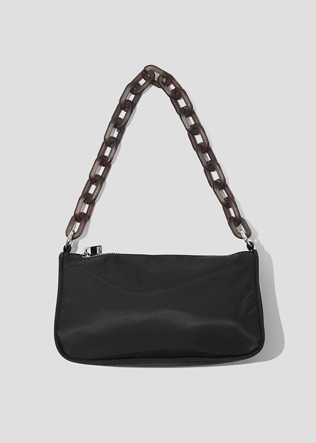 Acrylic Chain Strap Shoulder Bag