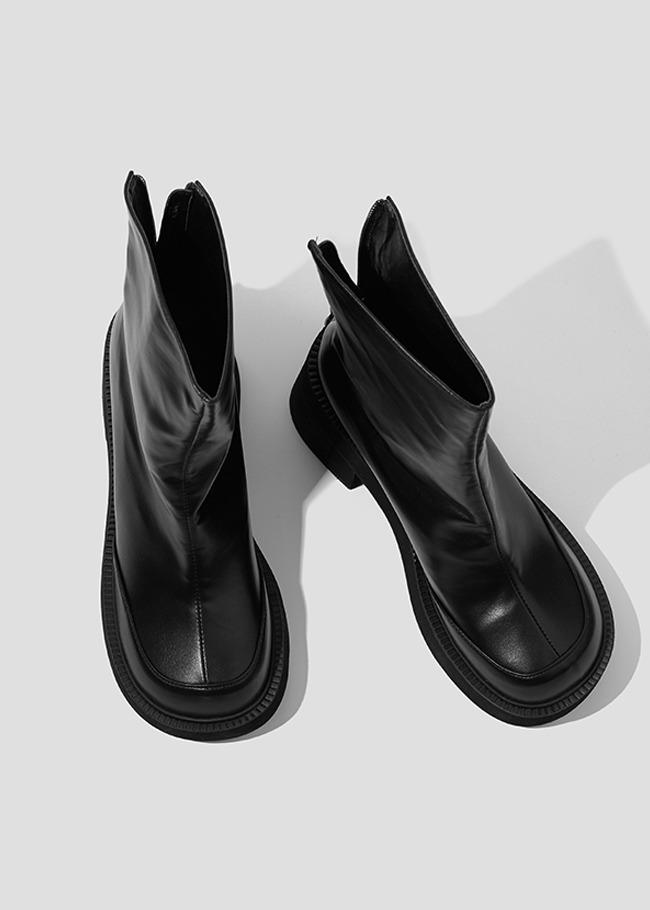Heeled Platform Ankle Boots