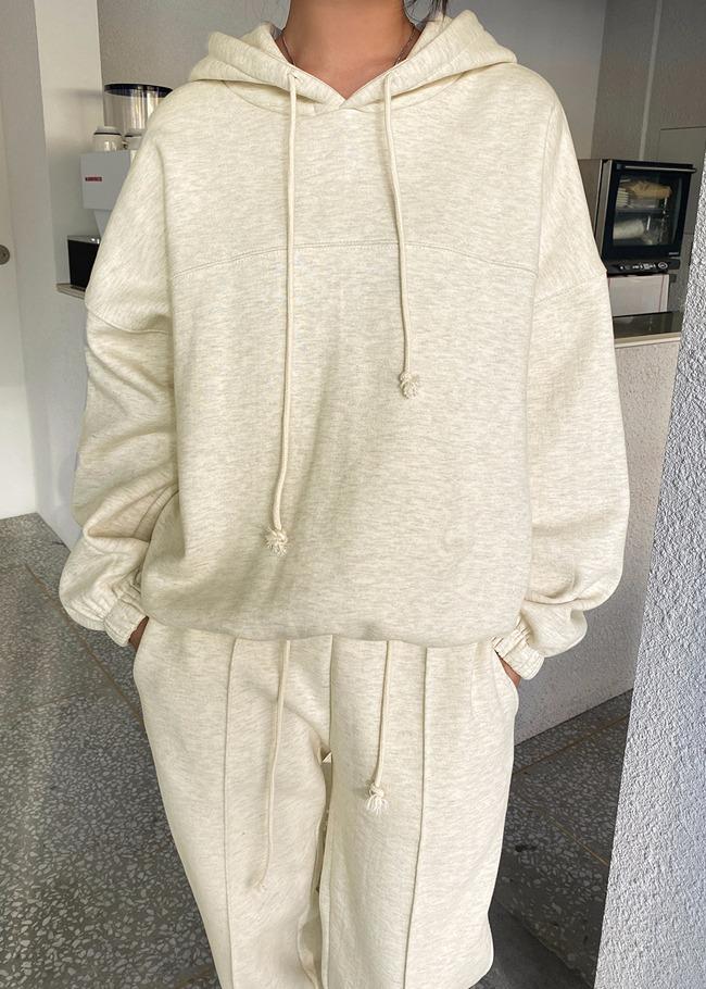 Basic Cotton Fleece Workout Hoodie