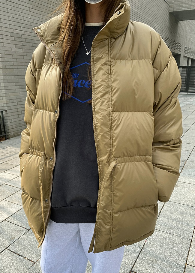 Duck Down-Padded Puffer Jacket