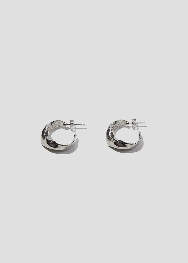 Jagged Curve Earrings