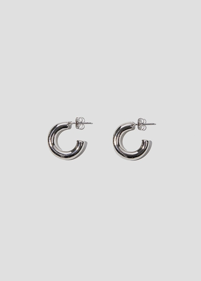 Cylindrical Curved Earrings