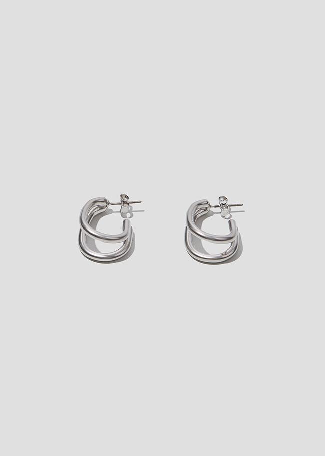 Matte Metallic Earrings