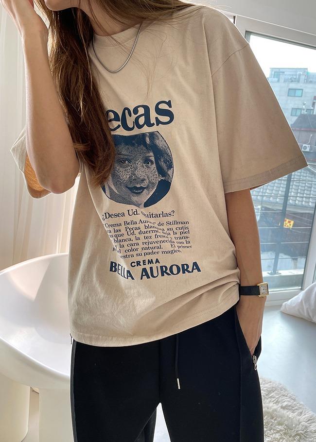 Vintage Ad Printed T-Shirt