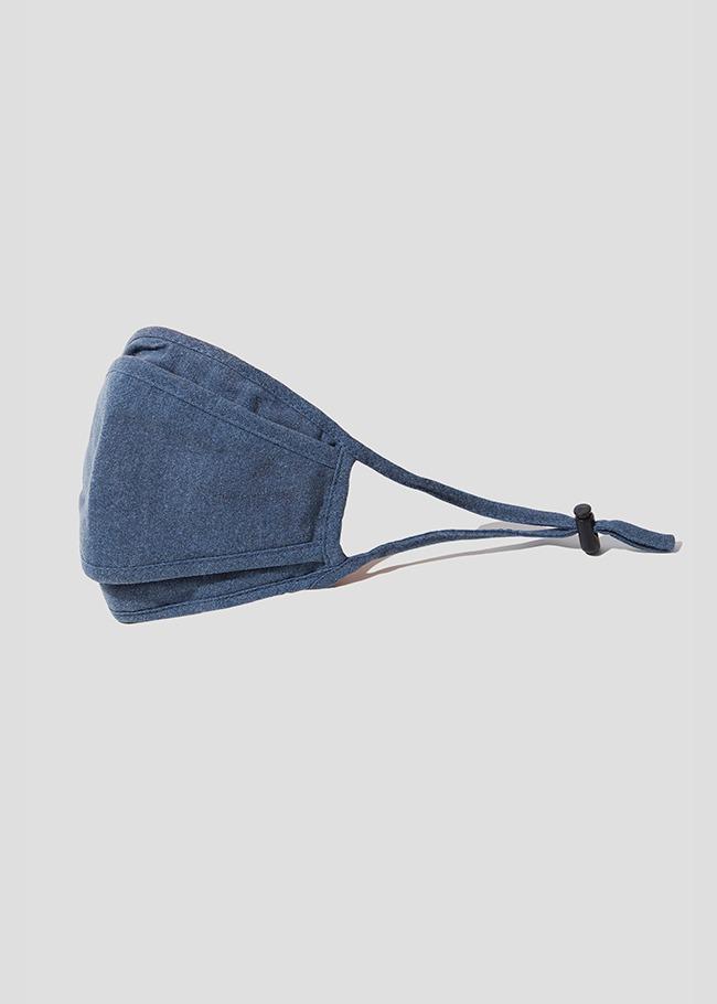 Washed Denim Cotton Fashion Mask