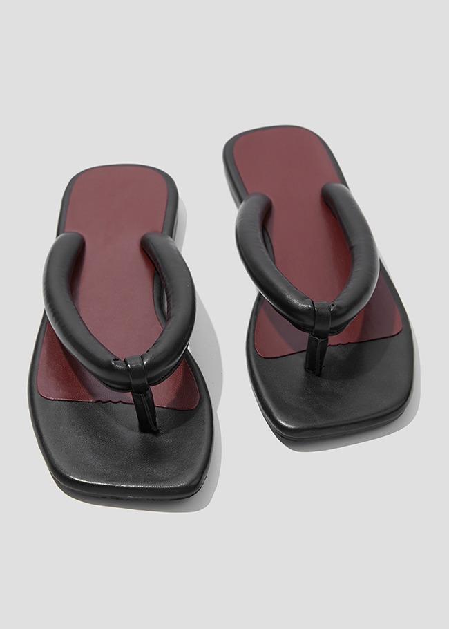 Cushioned Strap Flip Flop Sandals