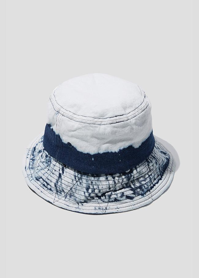 Tie Dye Denim Bucket Hat