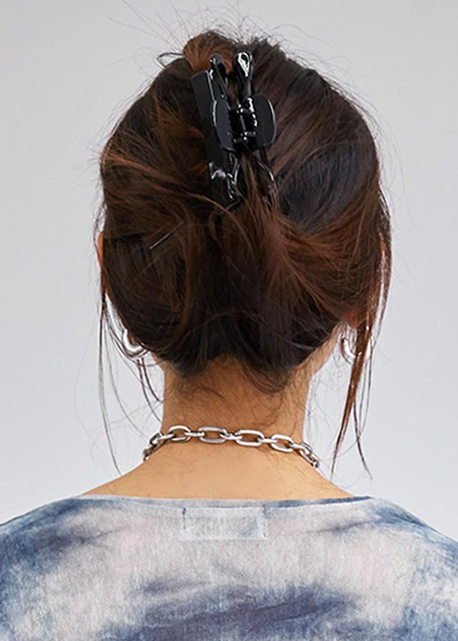 Solid Tone Hair Claw Clip