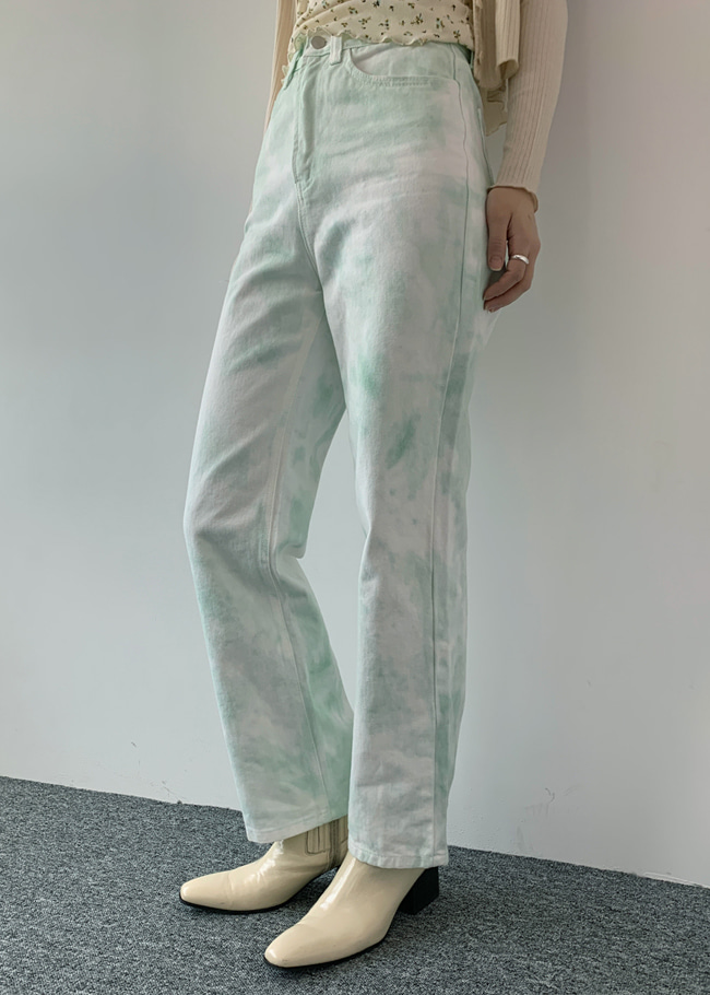 Watercolor Pastel Jeans