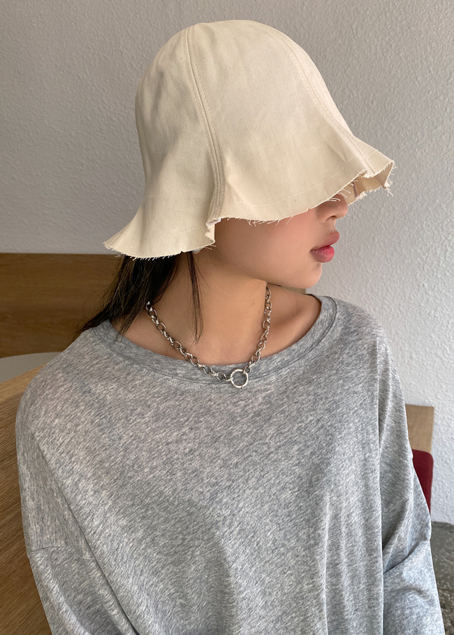 Basic Cotton Bucket Hat