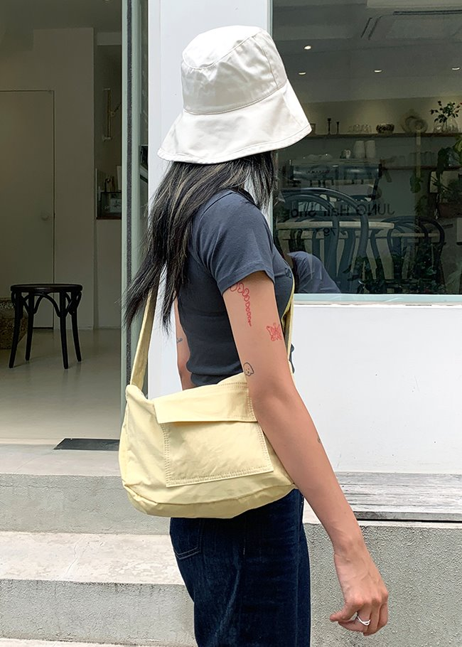 Mono Pocket Crossbody Bag