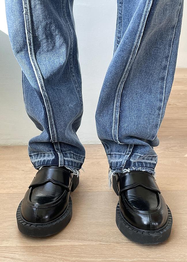 Platform Low Heel Loafers