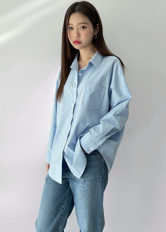 Solid Tone Cotton Shirt