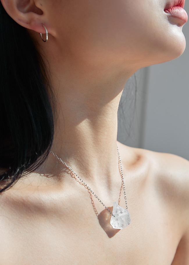 Chunky Gemstone Pendant Necklace