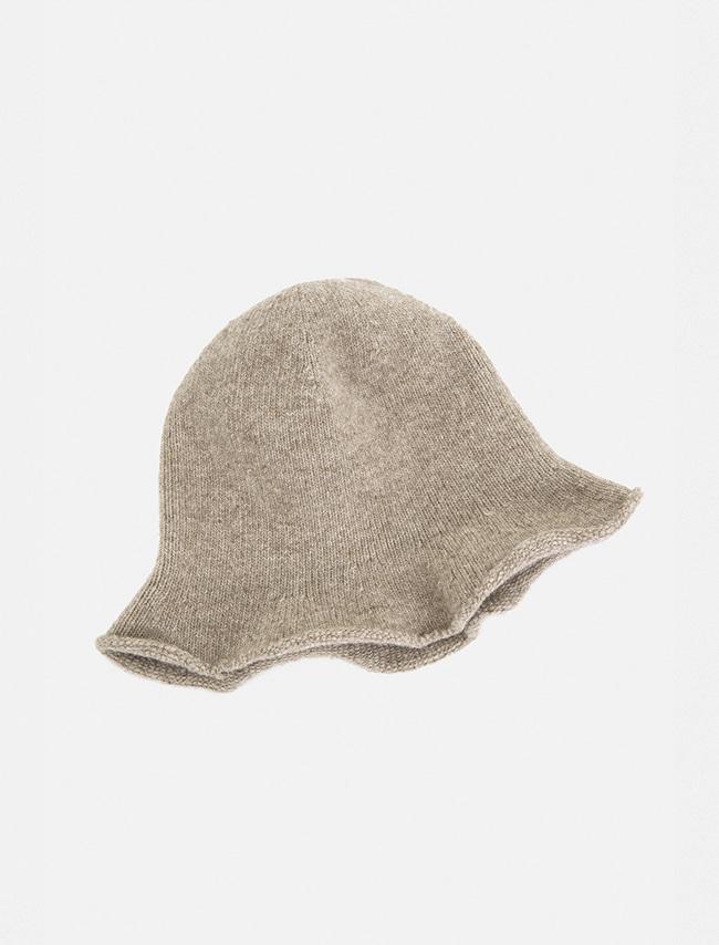DARKVICTORY暖心羊毛捲邊針織漁夫帽