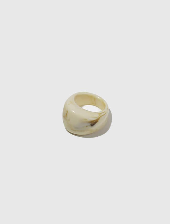 DARKVICTORY輕奢文藝風弧面造型戒指