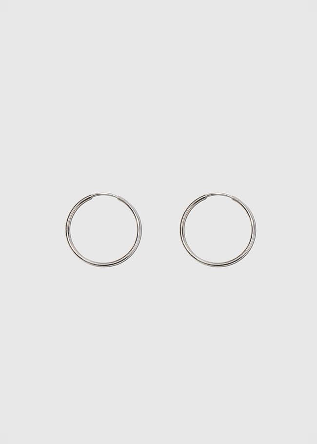 DARKVICTORY經典百搭款銀質耳環