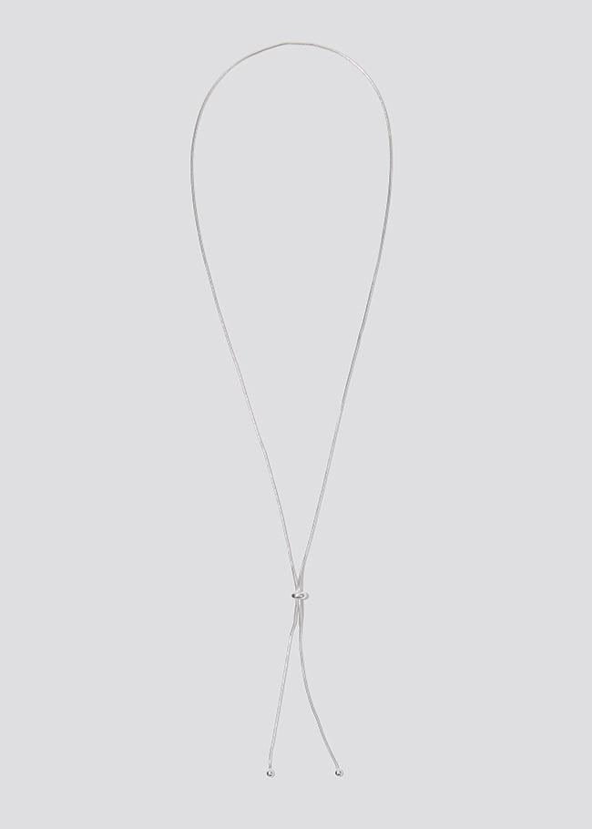 DARKVICTORY小圓珠抽繩Y字造型項鍊
