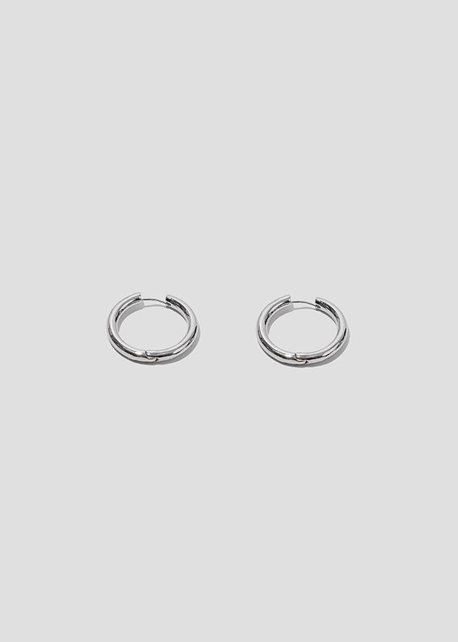 DARKVICTORY經典時尚風金屬圓圈耳環