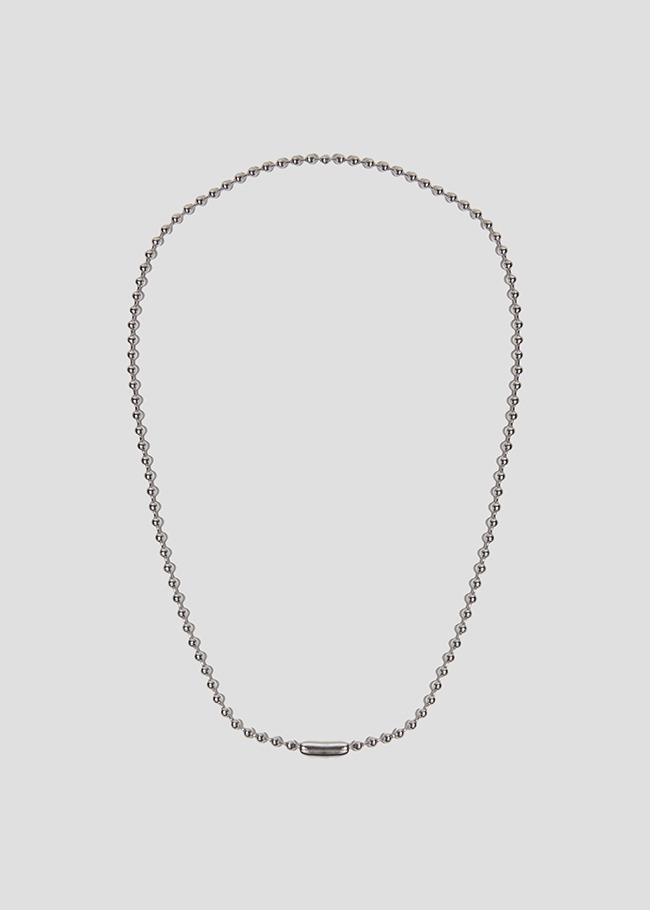DARKVICTORY百搭趣味風純色珠鍊項鍊