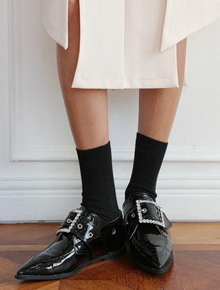 DARKVICTORY基本款素色彈性襪子