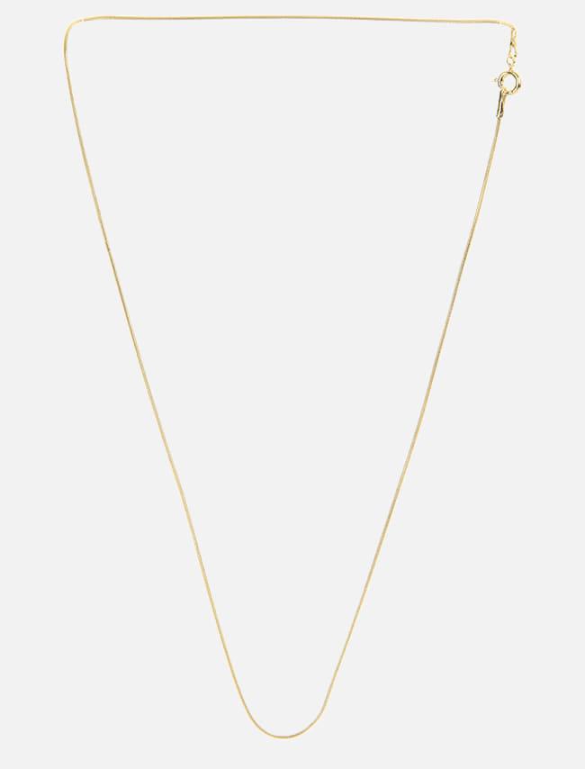 DARKVICTORY簡潔細鍊造型短項鍊(金色)