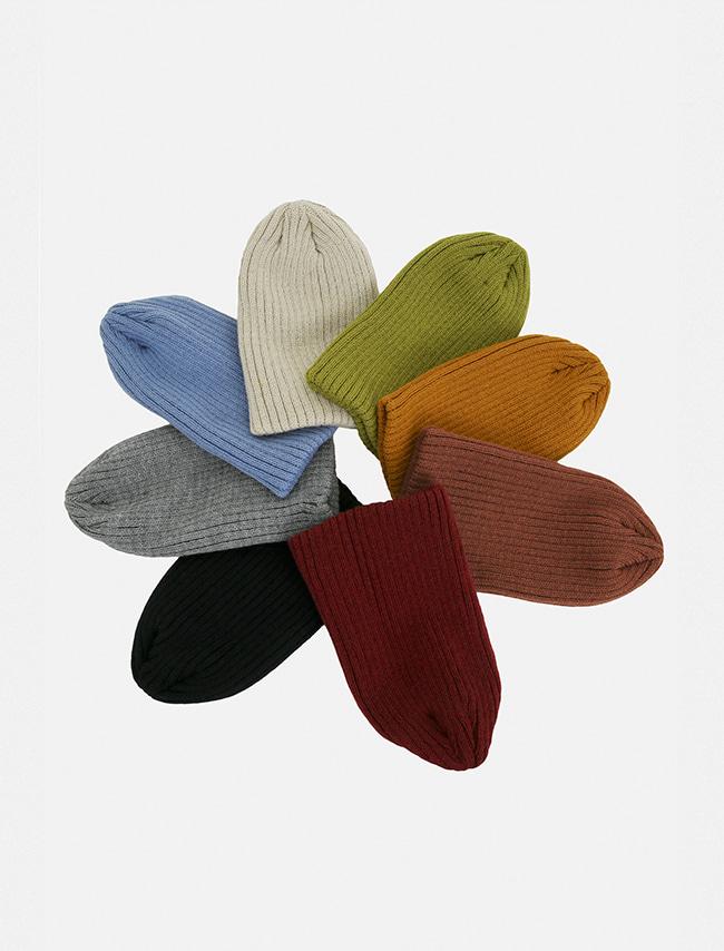 DARKVICTORY繽紛百搭基本款毛線帽