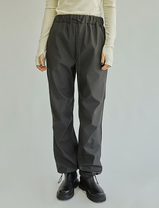 DARKVICTORY街頭風範內刷毛鬆緊長褲