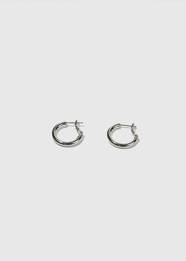DARKVICTORY時尚風采圓圈金屬耳環