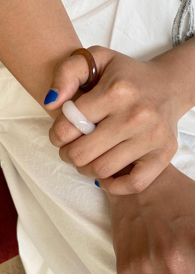 DARKVICTORY神秘混色感壓克力戒指