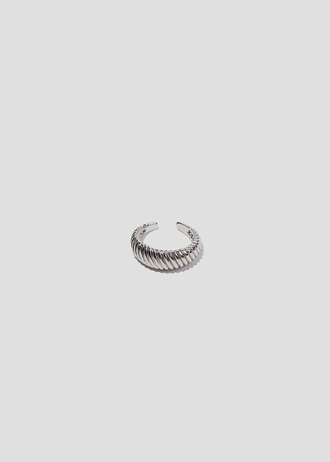 DARKVICTORY摩登日常羅紋缺口戒指