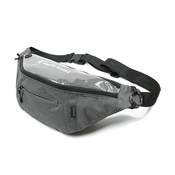 [몬스터 리퍼블릭] PROGRESS WAIST BAG ver.2 / D.GRAY