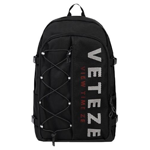 [VETEZE] Half Backpack (black)