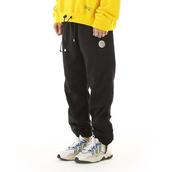 [RDVZ] 알디브이제트 Metallic Warm Up Pants Black