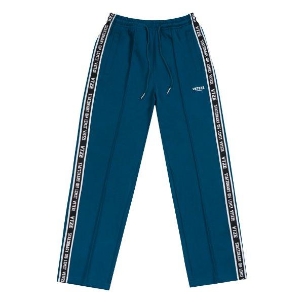 [VETEZE] Side Line Pants (deep blue)