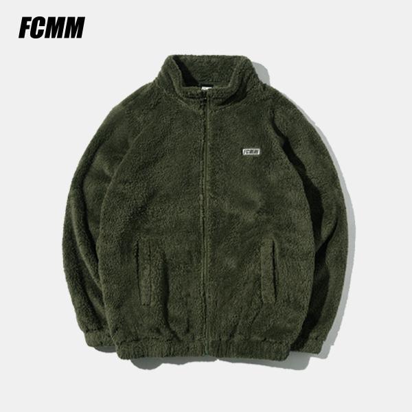 [FCMM] 클럽 보아 플리스 집업 자켓 - 카키