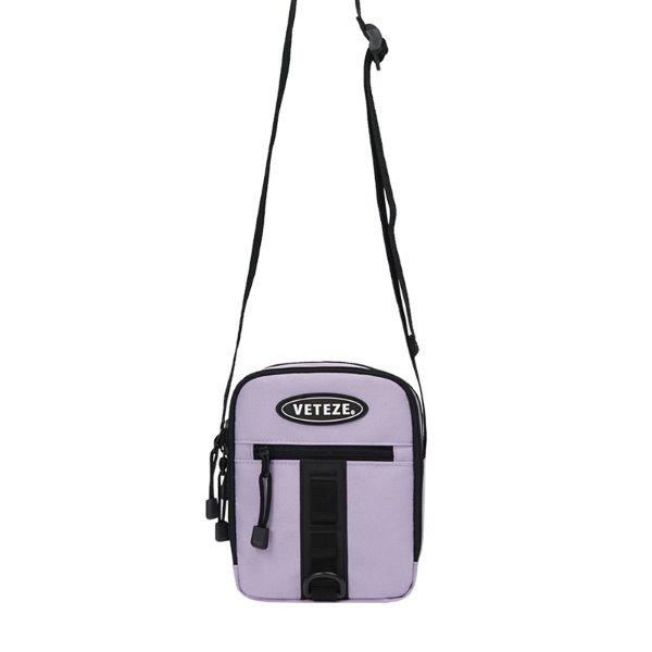 [VETEZE] Uptro Cross Bag (light purple)