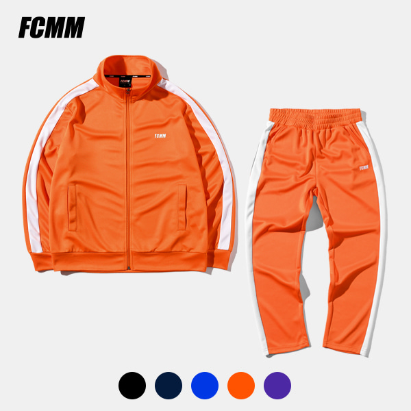 [TRACK IN SPRING][FCMM] 클럽 라인 트랙자켓 & 트랙팬츠 세트 (+티셔츠 증정)