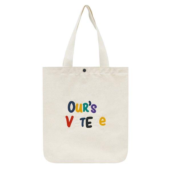[대한민국 동행세일][VETEZE] Our's Eco Bag (cream)