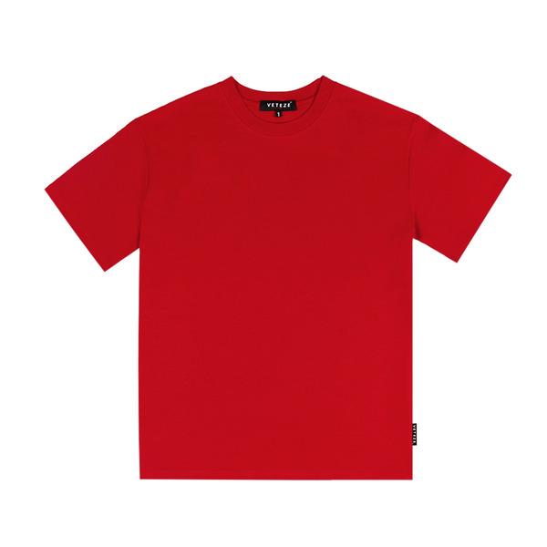 [VETEZE] RENAS_2 T-SHIRTS (Red)