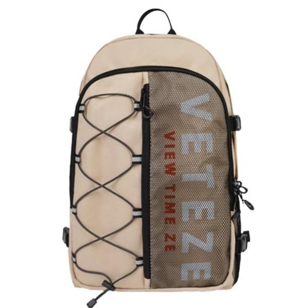 [VETEZE] Half Backpack (beige)
