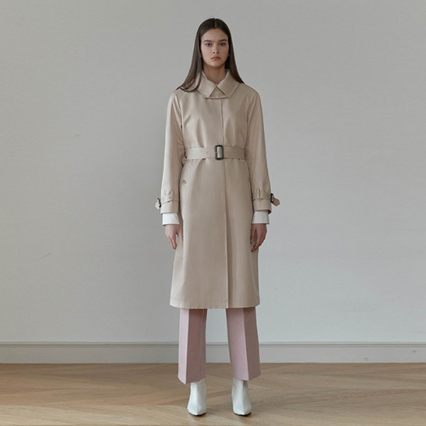 [ANOTHER LOUNGE] Trench Coat Altas Single Button (2 colors)