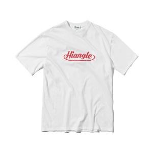 [하이앵글] 크라운 로고 티셔츠 - 화이트
