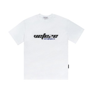 [VETEZE] True Up Half T-Shirts (white)